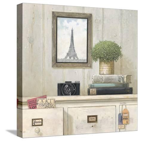 Paris Traveler-Arnie Fisk-Stretched Canvas Print