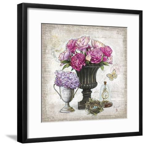 Vintage Estate Florals 1-Chad Barrett-Framed Art Print