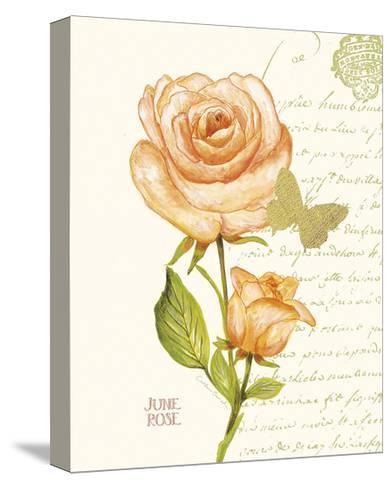 June Rose-Ariane Sarah-Stretched Canvas Print