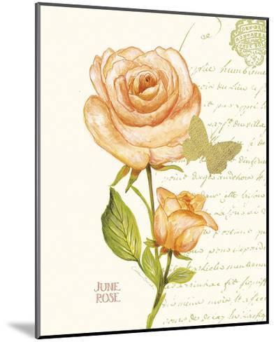 June Rose-Ariane Sarah-Mounted Art Print