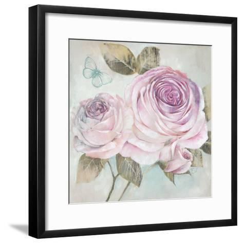 Rose Shimmer-Stefania Ferri-Framed Art Print