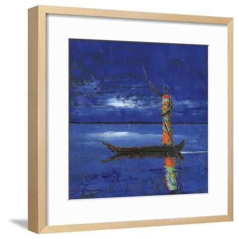 Midnight Voyage 2-Michel Rauscher-Framed Art Print