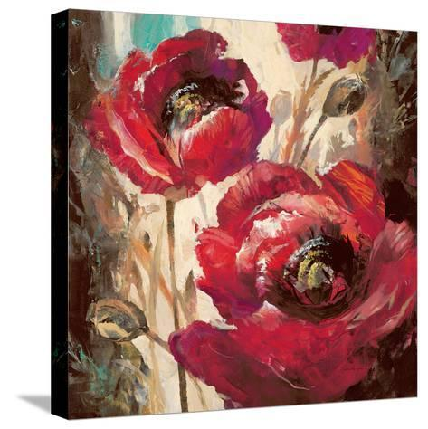 Dramatic Poppy-Brent Heighton-Stretched Canvas Print