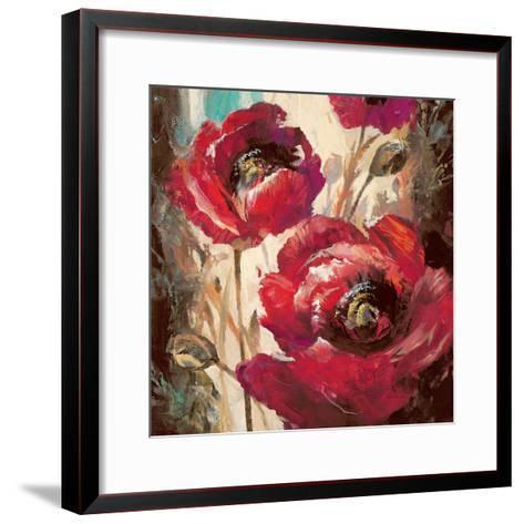 Dramatic Poppy-Brent Heighton-Framed Art Print