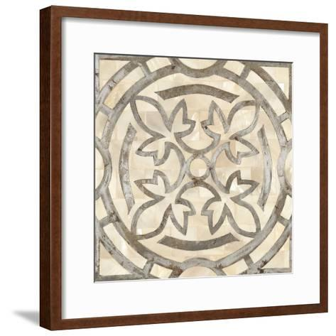 Natural Moroccan Tile 3-Hope Smith-Framed Art Print