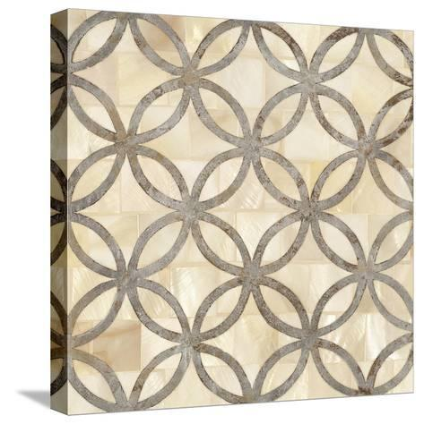 Natural Moroccan Tile 4-Hope Smith-Stretched Canvas Print
