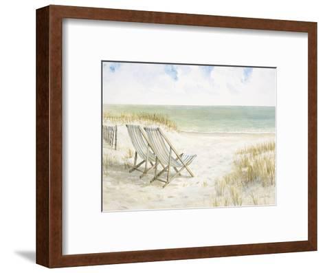 Sand Dunes and Sunshine-Arnie Fisk-Framed Art Print