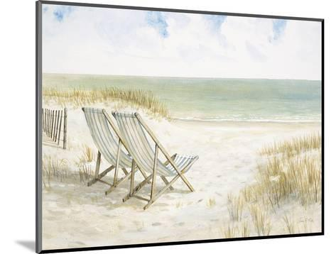 Sand Dunes and Sunshine-Arnie Fisk-Mounted Art Print