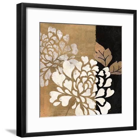 Glamour of Gold 1-Bella Dos Santos-Framed Art Print