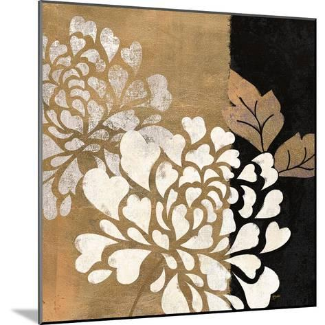 Glamour of Gold 1-Bella Dos Santos-Mounted Art Print
