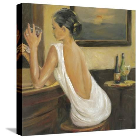 Woman in White 2-Sandra Smith-Stretched Canvas Print