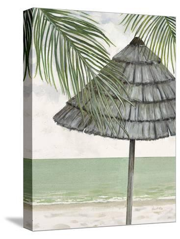 Seaside Palapa-Arnie Fisk-Stretched Canvas Print