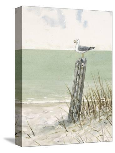 Seaside Perch-Arnie Fisk-Stretched Canvas Print