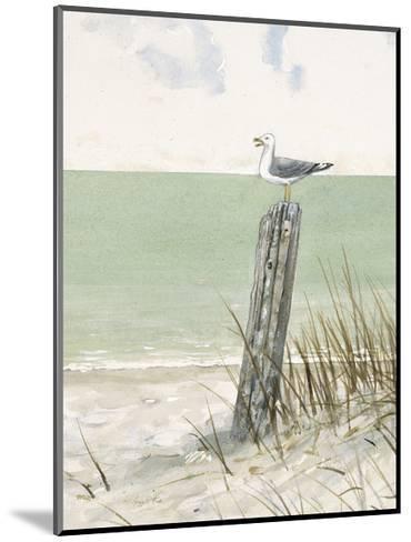 Seaside Perch-Arnie Fisk-Mounted Art Print