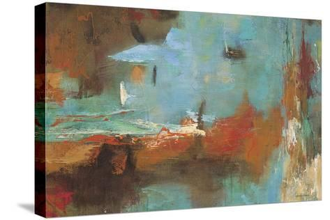 Seaside Rhythm 2-Gabriela Villarreal-Stretched Canvas Print