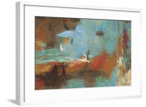 Seaside Rhythm 2-Gabriela Villarreal-Framed Art Print