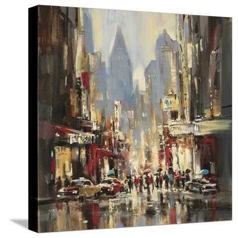 City Sensation-Brent Heighton-Stretched Canvas Print