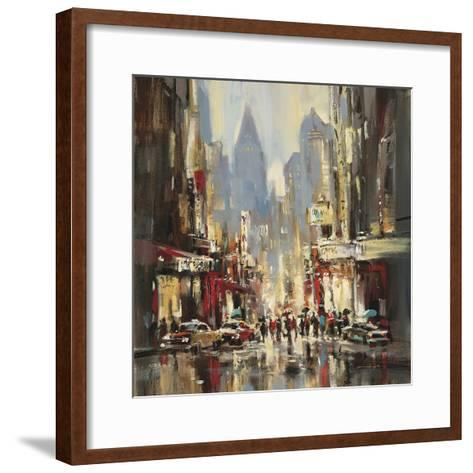 City Sensation-Brent Heighton-Framed Art Print
