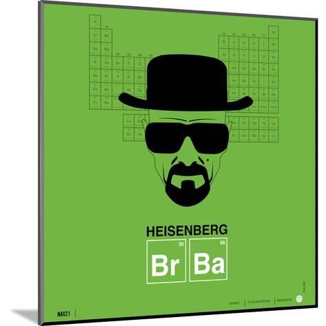 Heisenberg Poster-NaxArt-Mounted Art Print