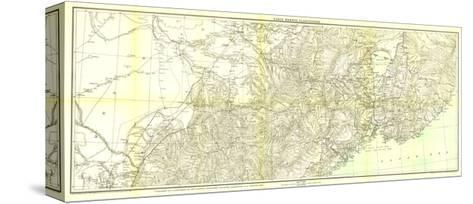 1905 Kirin Harbin Vladivostok Map-National Geographic Maps-Stretched Canvas Print