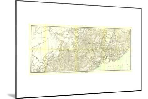 1905 Kirin Harbin Vladivostok Map-National Geographic Maps-Mounted Art Print