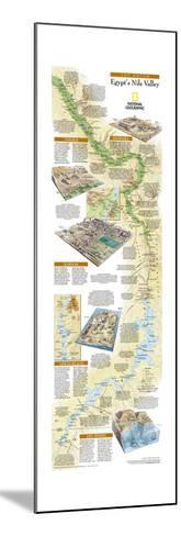 2005 Egypts Nile Valley South Map-National Geographic Maps-Mounted Art Print