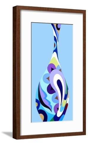 Moderno Bello I-Mary Calkins-Framed Art Print