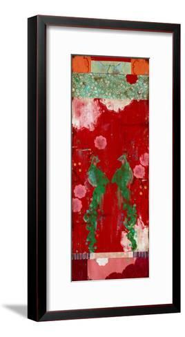 Lovebird Series 5-Kathe Fraga-Framed Art Print