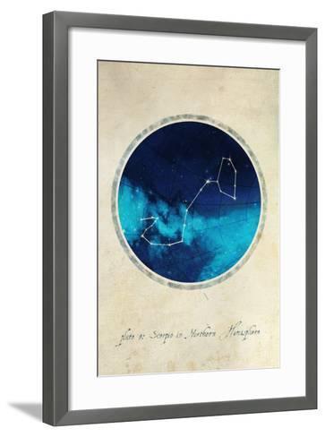 Scorpio-GI ArtLab-Framed Art Print