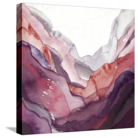 Rose Quartz B-GI ArtLab-Stretched Canvas Print