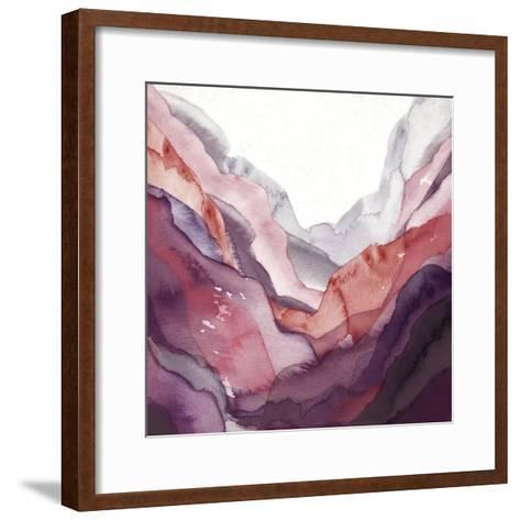 Rose Quartz B-GI ArtLab-Framed Art Print
