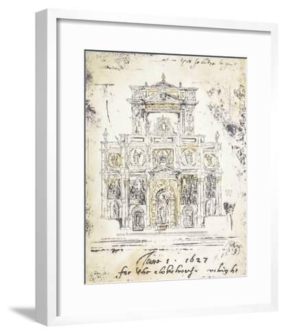 Classical Building 1-Elizabeth Jardine-Framed Art Print