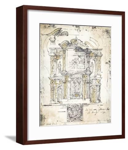 Classical Building 2-Elizabeth Jardine-Framed Art Print