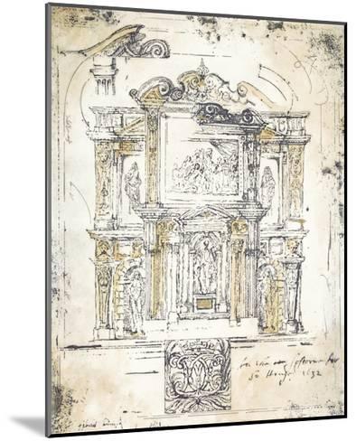 Classical Building 2-Elizabeth Jardine-Mounted Premium Giclee Print