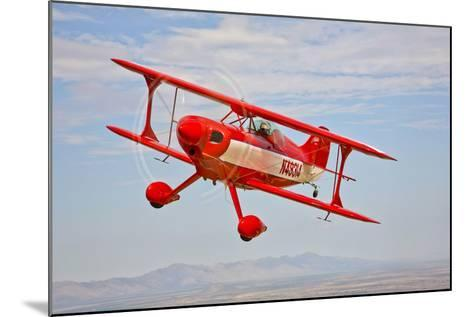 A Pitts Special S-2A Aerobatic Biplane in Flight Near Chandler, Arizona--Mounted Photographic Print