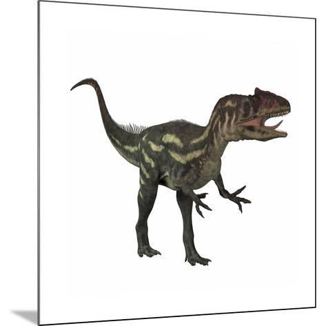 Allosaurus, a Prehistoric Era Dinosaur--Mounted Art Print