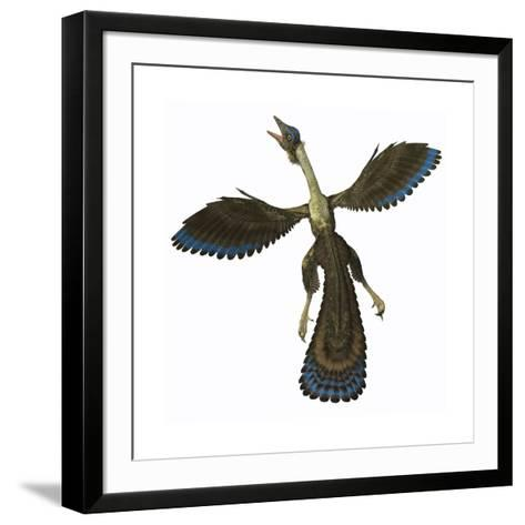 Archaeopteryx, known as One of the Earliest Prehistoric Birds--Framed Art Print