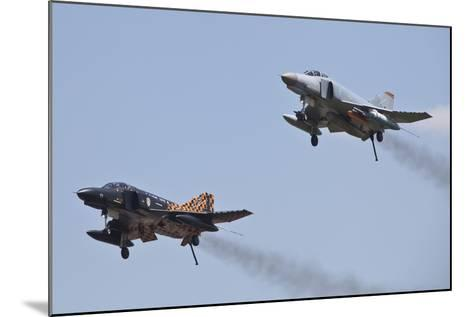 The Last Two Operational F-4F Phantom's of the German Air Force--Mounted Photographic Print