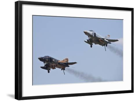 The Last Two Operational F-4F Phantom's of the German Air Force--Framed Art Print
