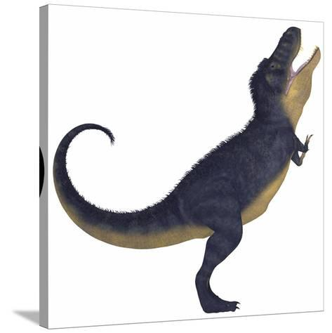 Tyranosaurus Rex, a Large Carnivore of the Cretaceous Period--Stretched Canvas Print