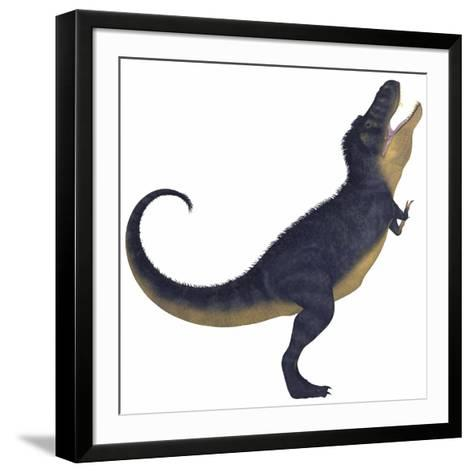 Tyranosaurus Rex, a Large Carnivore of the Cretaceous Period--Framed Art Print
