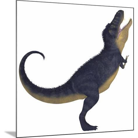 Tyranosaurus Rex, a Large Carnivore of the Cretaceous Period--Mounted Art Print