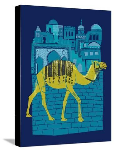 Camel Fes--Stretched Canvas Print