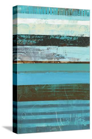 Letters to Jackie 2-Akiko Hiromoto-Stretched Canvas Print