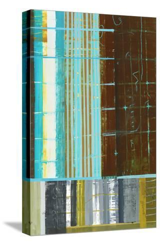 Abstract 1-Akiko Hiromoto-Stretched Canvas Print