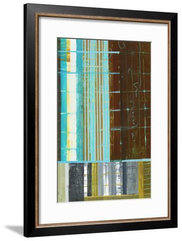 Abstract 1-Akiko Hiromoto-Framed Art Print