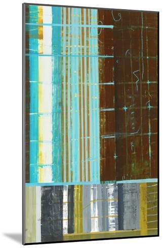 Abstract 1-Akiko Hiromoto-Mounted Premium Giclee Print