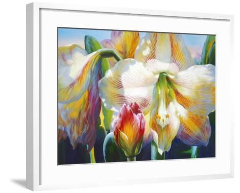 Amarylis-Elizabeth Horning-Framed Art Print