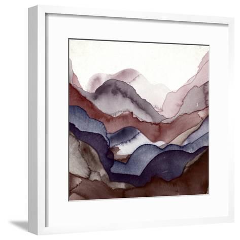 Rose Quartz A-GI ArtLab-Framed Art Print