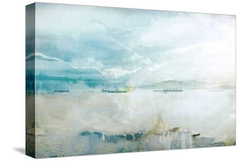Misty English Bay-GI ArtLab-Stretched Canvas Print